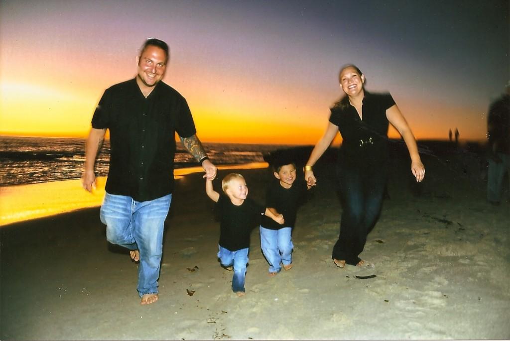 Eddie Spangler & Family